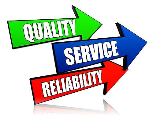 Maintenance & Spares - Quality, Services, Reliability