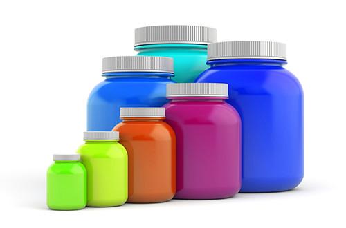 Bulk Item Locker Vending Machines - Coloured Jars
