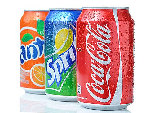 Drink Vending Machines - Fanta, Sprite & Coca Cola cans