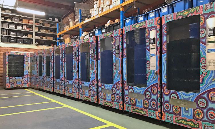 Refurbished Vending Machines